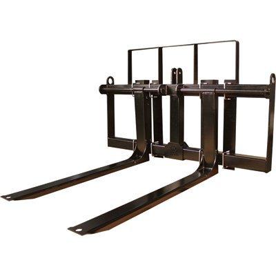 Load-Quip Front-End Loader Pallet Forks - 2000-Lb. Capacity, Black, Model# 29211732