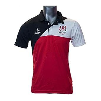ulster rugby KUKRI rendimiento camiseta para hombre, color Rojo - rosso, tamaño mediano: Amazon.es: Ropa y accesorios