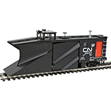 Russell Snowplow - Ready to Run -- Canadian National #55618 (black, red; Noodle Logo)
