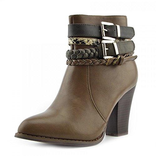 Kick Winter mid Womens Calf Ladies Boots Riding Cowboy Boot Ladies Boots Footwear Ladies Tan RwPqrZ1R