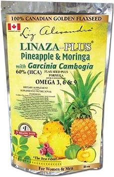 Amazon.com: Linaza Plus Piña Moringa con Garcinia Cambogia ...