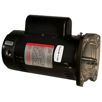 Sta rite square flange pool pump motor 1 5 for Sq1152 ao smith motor
