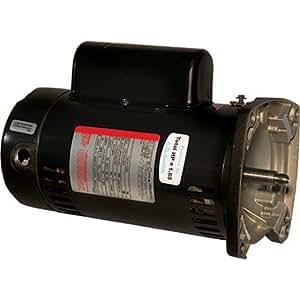Sta rite square flange pool pump motor 1 5 for Amazon pool pump motors