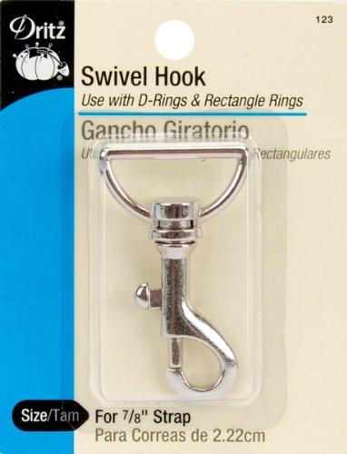 Swivel Hook 2 For 7/8 Strap-Nickel