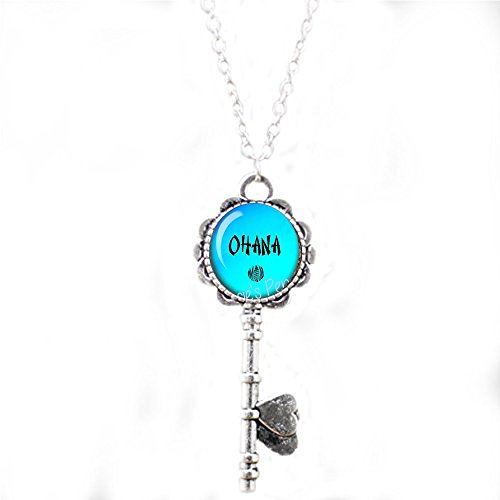 Ohana Key Necklace - Hawaiian Jewelry - Hawaiian Family - Ohana Jewelry -