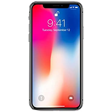 Apple iPhone X GSM Unlocked 256GB Phone, Space Gray