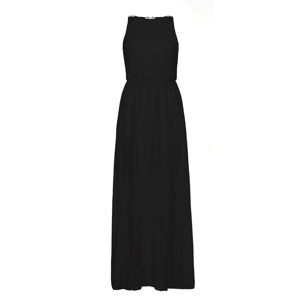 3339d9ef63c0ed Amazon.com  Women s Casual Halter Sleeveless Racerback and Long Sleeve  Loose Maxi Dresses (Pink