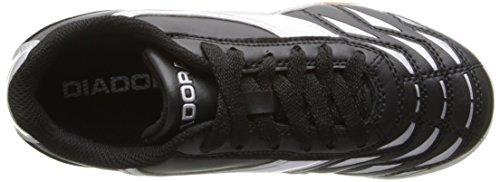Diadora Capitano ID JR Indoor Soccer Shoe, Black/White, 3.5 M US Big Kid by Diadora (Image #7)