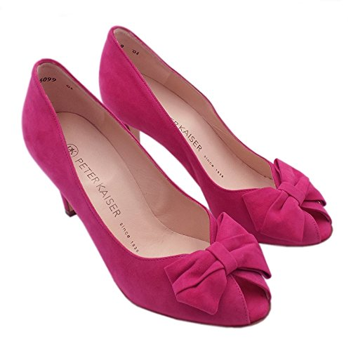 Suede In Toe Kaiser Shoes Peter Peep Ladies Stila Berry xw8nqPA