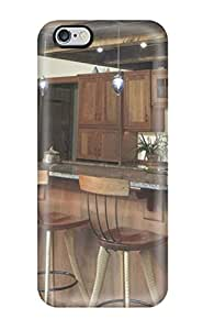 New Arrival Iphone 6 Plus Case Cathedral Kitchen Bar With Wood Cabinets And Rustic Support Beams Case Cover