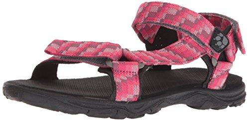 Jack Wolfskin Mädchen Seven Seas 2 Sandal G Sport Pink (Tropic Pink)