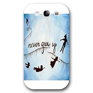 Diy White Disney Cartoon Peter Pan For Iphone 5/5S Case Cover Case