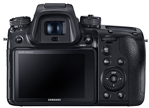 Samsung NX EV-NX1ZZZBQBUS 28 MP Wireless Smart Compact System Camera (Black)