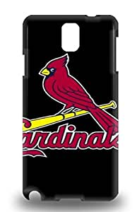 Tpu Case For Galaxy Note 3 With MLB St. Louis Cardinals Design