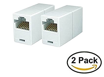 Amazon imbaprice rj45 coupler pack of 2 cat5e ethernet imbaprice rj45 coupler pack of 2 cat5e ethernet cable extender female to female asfbconference2016 Image collections