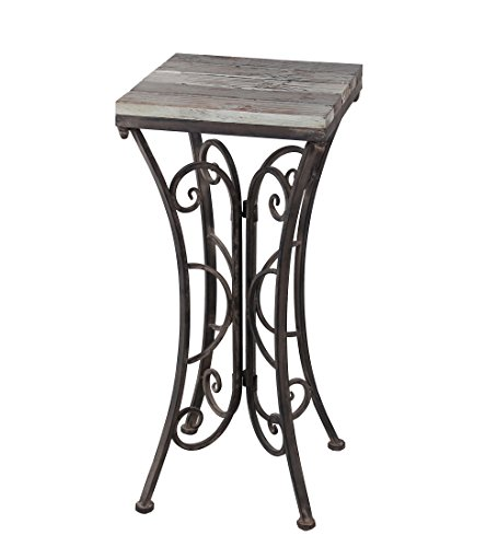 Square Iron Plant Stands - 1