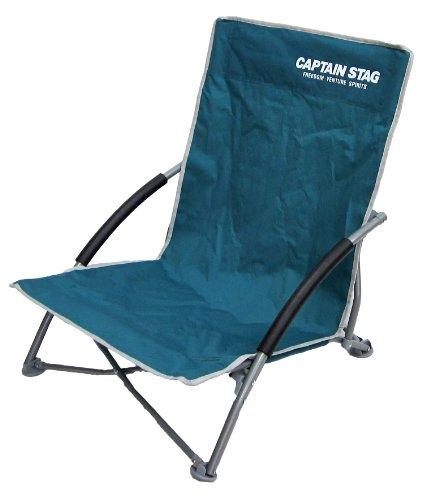 <캠핑용품> 캡틴 스태그(CAPTAIN STAG) 캠프 용품 의자 라콘테로스 타일 안락의자UC-1503 (색상: 그린, 퍼플, 레드)