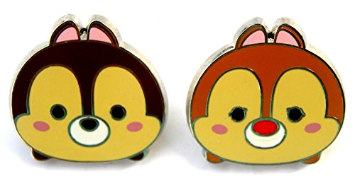 Disney Park Pin Mystery Set Chip & Dale Tsum (Mystery Pin Set)