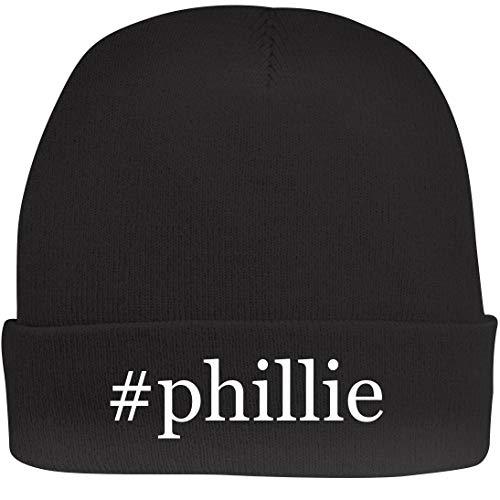 Shirt Me Up #Phillie - A Nice Hashtag Beanie Cap, Black, OSFA ()