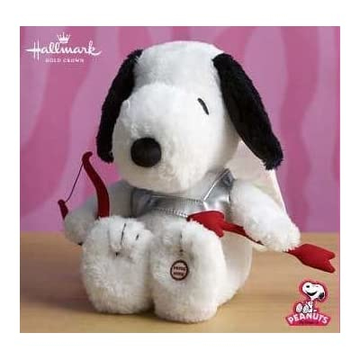 "Hallmark Snoopy Cupid 11"" Plush Dog: Toys & Games"