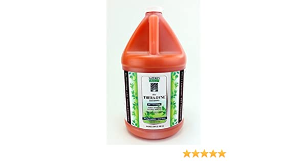 Amazon.com : Natures Choice Thera-Dyne Shampoo 50:1 Gallon : Pet Supplies