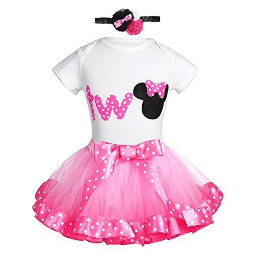 Alvivi Toddler Baby Girls' Mouse Christmas Fancy Dress