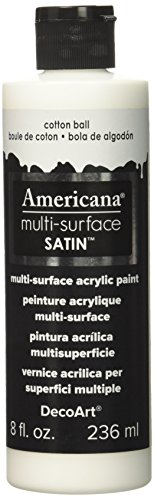 DecoArt Americana Multi-Surface Satin Acrylic Paint, 8-Ounce