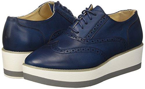 Zapatillas Allacciato Azul 119307578epblue Mujer blue Para Primadonna RqwBOB