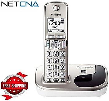 Panasonic kx-tgd210 N – Teléfono inalámbrico con identificador de llamadas/ llamada en espera – por netcna: Amazon.es: Electrónica