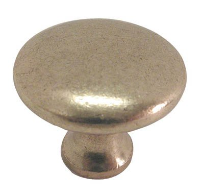 Lustre Brass Finish - Hickory Hardware P14255-LB 1-1/8-Inch Conquest Cabinet Knob, Lustre Brass