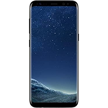 Samsung Galaxy S8+ Plus SM-G955FD Factory Unlocked Phone (Midnight Black)