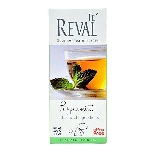 Te Reval Peppermint Herbal Infusions Tea, 2g (15 Tea Bags)