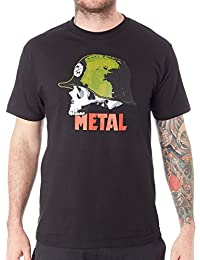 Men's Graphic Militant Logo Tee T-Shirt