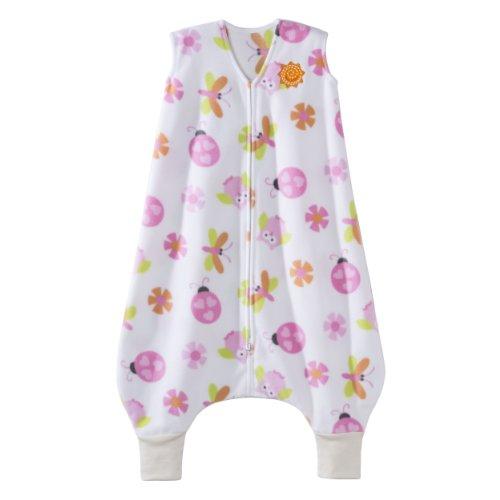 HALO Early Walker SleepSack Micro Fleece Wearable Blanket, Print Girl, Medium