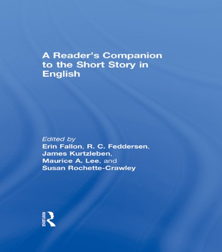 A Reader's Companion to the Short Story in English Pdf