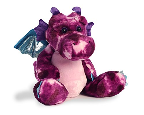 Aurora World Dragon Plush Zorath Braveheart