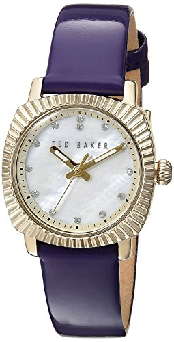 Ted Baker Women's 10024722 Mini Analog Display Japanese Quartz Purple Watch