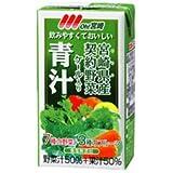 南日本酪農協同 Oh!宮崎 青汁125ml紙パック×24本入×(2ケース)