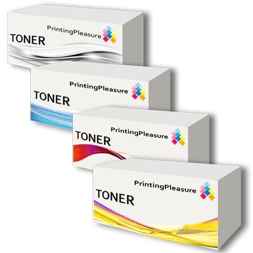 Compatible HP CE260A, CE261A, CE262A, CE263A Full Color Set (Black, Cyan, Yellow, Magenta), Office Central