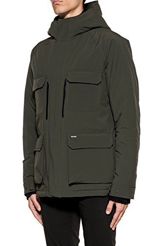 Uomo Poliammide Wocps2579st026377 Woolrich Outerwear Giacca Verde nEwCqvYS