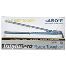 BaByliss Pro BABNT5073T Nano Titanium-Plated Wet-To-Dry Hair Ultra-Thin Straightening Iron, 1.5 Inch by Babyliss Pro [Beauty]