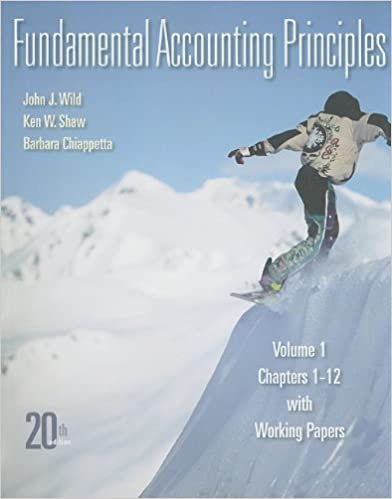 Amazon fundamental accounting principles vol 1 chapters 1 12 fundamental accounting principles vol 1 chapters 1 12 with working papers 20th edition 20th edition fandeluxe Images