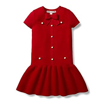 1920s Children Fashions: Girls, Boys, Baby Costumes Hope & Henry Girls Milano Stitch Sweater Dress Made with Organic Cotton $24.95 AT vintagedancer.com