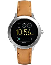 FOSSIL Gen 3 Smartwatch - Q Venture Luggage Leather / Women's Smartwatch with Bluetooth Technology, Activity Tracker, Smartphone Notifications