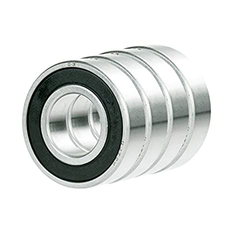 1x 6316-ZZ Ball Bearing 80mm x 170mm x 39mm Double Shielded Seal NEW QJZ Metal