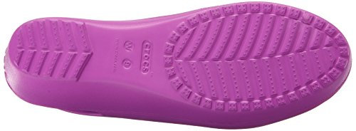 Crocs Femmes Mabyn Slingback Mini Wedge Sauvage Orchidée