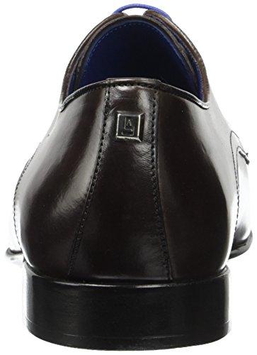 Azzaro Nabali - Zapatos Derby Hombre Marron (Chataigne)