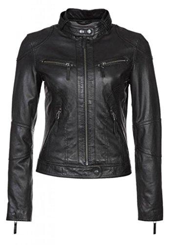 Womens Vintage Motorcycle Jacket - 8