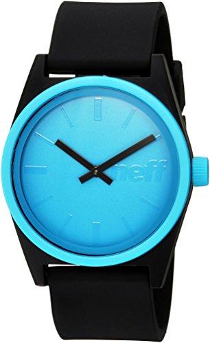 Neff Men's Duo Watch, Cyan, One Size (Watch Neff)