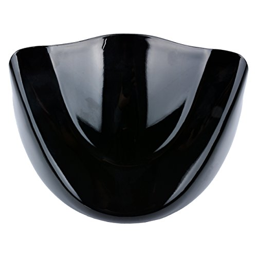 KaTur Motorcycle Astra Depot Matte Black Chin Fairing Lower Front Spoiler Air Dam for Harley Davidson Sportster 2004-2014 XL883 XL1200 2004-2015
